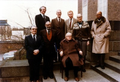 1979 Nobel Prize Winners Top Row Left To Right Sheldon Lee Glashow Theodor W Schultz Steven Weinberg Allan M Cormack Sir Arthur Lewis