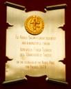 1979 - Istituto di Fisica Teorica, Università degli Studi di Trieste: Congratulations for the Nobel Prize  - thumbnail