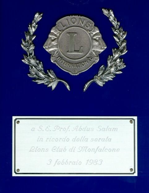 1983 - Lions Club, Monfalcone - big