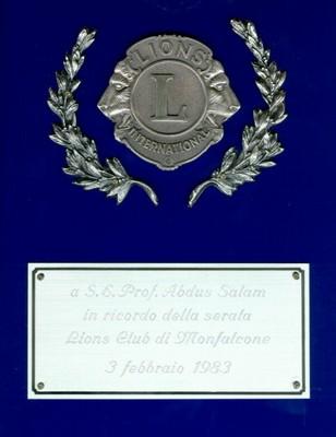 1983 - Lions Club, Monfalcone - small