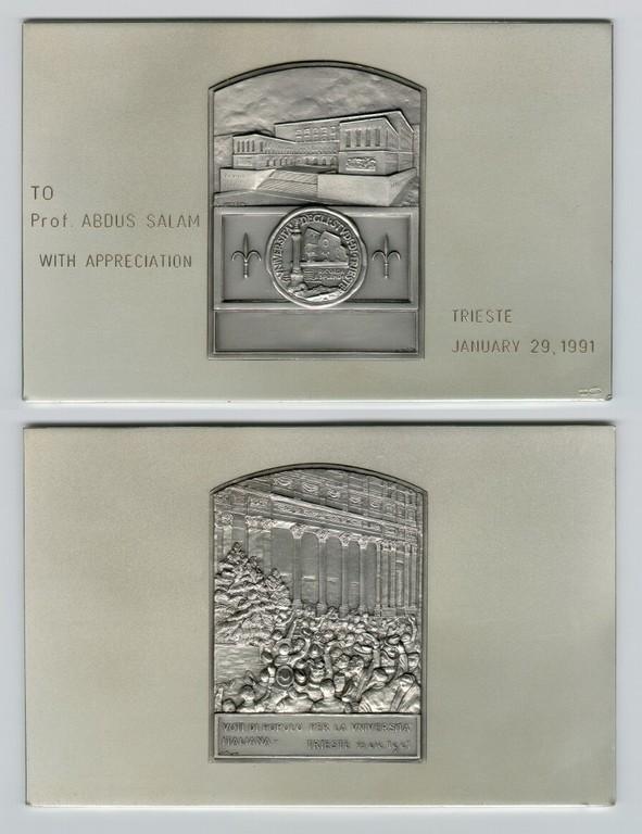 1991 - Università degli Studi di Trieste: On the Occasion of Abdus Salam's 65th Birthday - big