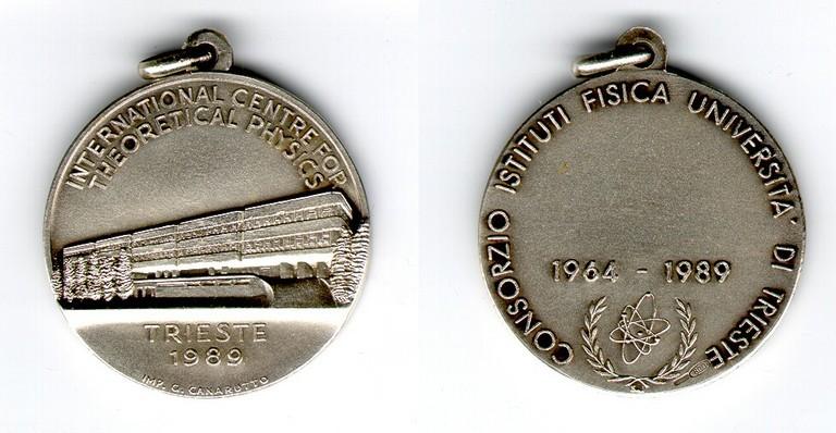 1989 - Consorzio Istituti Fisica Università di Trieste: ICTP 25th Anniversary, 1964-1989 - big