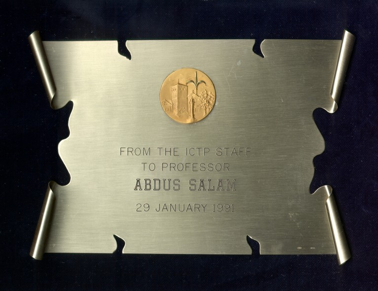 1991 - Staff, International Centre for Theoretical Physics: On the Occasion of Abdus Salam's 65th Birthday - big