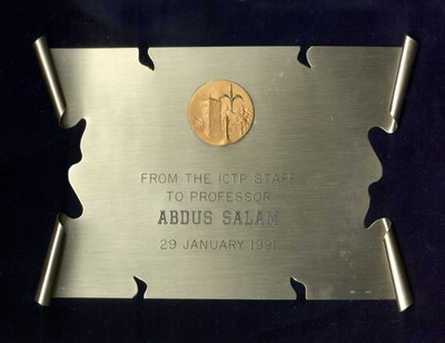 1991 - Staff, International Centre for Theoretical Physics: On the Occasion of Abdus Salam's 65th Birthday - small