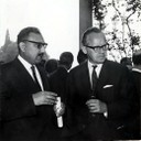 With Sigvard Eklund, IAEA Director General, 1964 - thumbnail