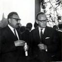 With Sigvard Eklund, IAEA Director General, 1964 - thumbnail